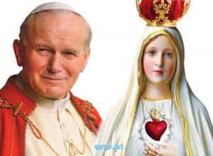 Oração a João Paulo II ao Imaculado Coração de Maria